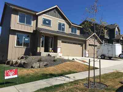 Spokane Valley Single Family Home For Sale: 2716 S Seabiscuit Dr