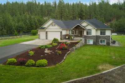 Nine Mile Falls WA Single Family Home Ctg-Sale Buyers Hm: $629,900