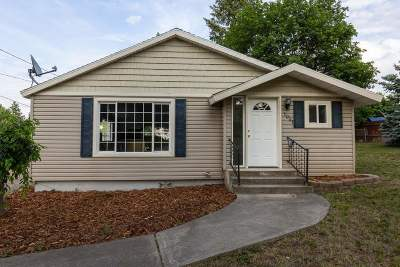 Spokane Valley Single Family Home New: 1001 S Adams Rd