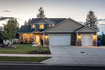 Spokane Single Family Home New: 10503 N Alberta Cir
