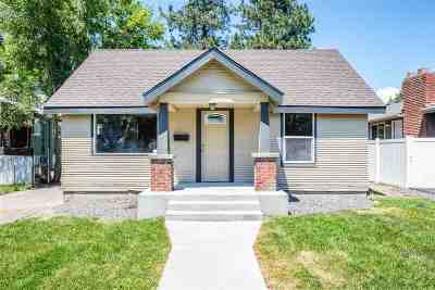 Spokane Single Family Home Ctg-Inspection: 2211 E Central Ave