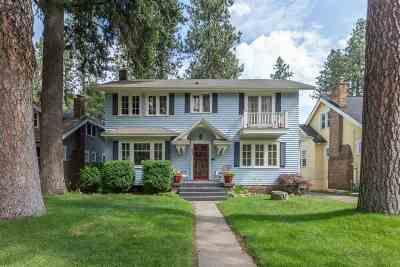 Spokane Single Family Home Bom Rlsd: 444 W 23rd Ave