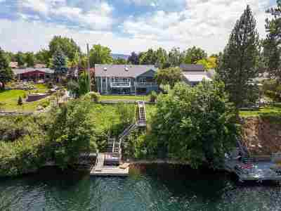 Spokane Single Family Home For Sale: 8423 E South Riverway Ave