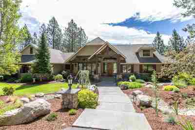 Spokane Single Family Home For Sale: 13125 S Fairway Ridge Ln