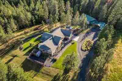 Coeur D Alene Single Family Home For Sale: 10988 W Thompson Rd