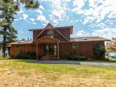 Spokane County, Stevens County Single Family Home Ctg-Inspection: 12808 N East Newman Lake