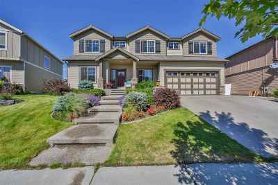 Spokane Valley Single Family Home For Sale: 1826 S Clover Dr