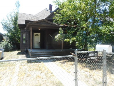 Spokane Single Family Home Ctg-Inspection: 2119 W Gardner Ave