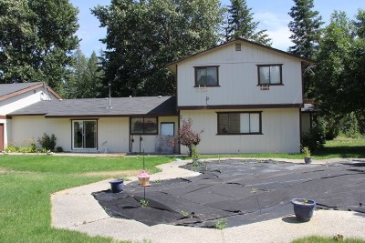 Spokane Single Family Home For Sale: 21407 N Monroe Rd