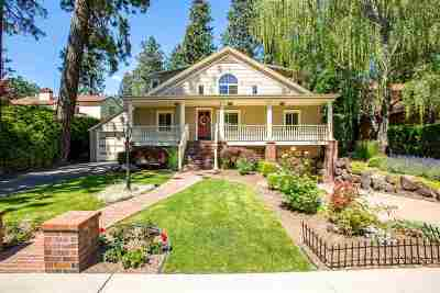 Spokane Single Family Home For Sale: 1215 E Overbluff Rd