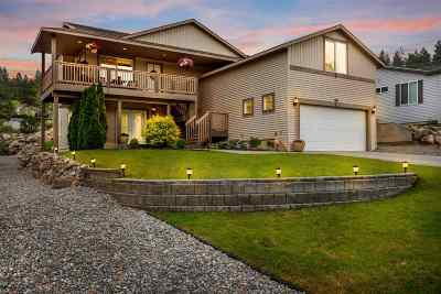 Spokane Valley Single Family Home For Sale: 1421 S Chronicle Rd
