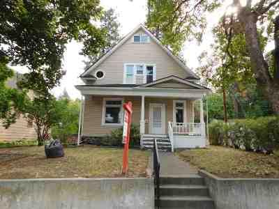 Spokane Single Family Home For Sale: 711 S Adams Ave