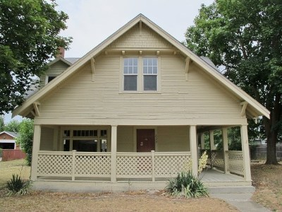 Spokane Single Family Home Bom: 829 E Olympic Ave