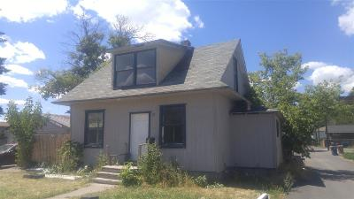 Single Family Home For Sale: 3011 N Walnut St