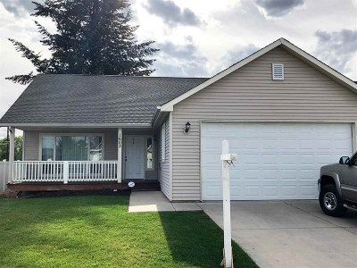 Spokane Valley Single Family Home For Sale: 1603 N Tschirley Rd