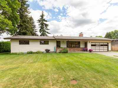 Spokane Valley Single Family Home For Sale: 10120 E 18th Ave