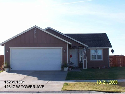 Airway Heights, Medical Lk Single Family Home Ctg-Inspection: 12617 W Tower Ave
