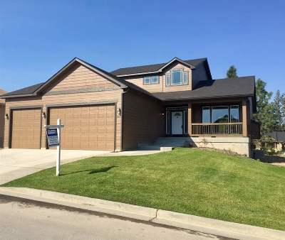 Colbert Single Family Home For Sale: 16813 N Cincinnati Ln