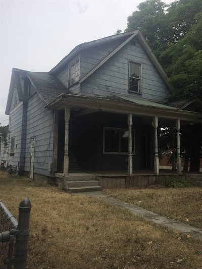Spokane Single Family Home Chg Price: 1104 W Maxwell Ave