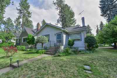 Spokane County Single Family Home New: 1127 W 25th Ave