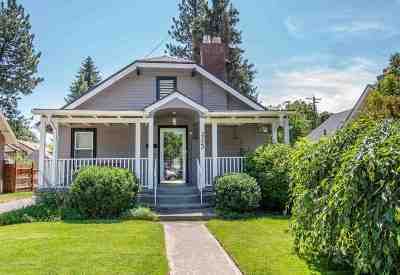 Spokane County Single Family Home New: 3323 W Glass Ave
