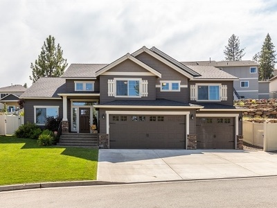 Spokane Valley WA Single Family Home New: $442,000