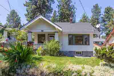 Spokane Single Family Home For Sale: 2210 S Lincoln St