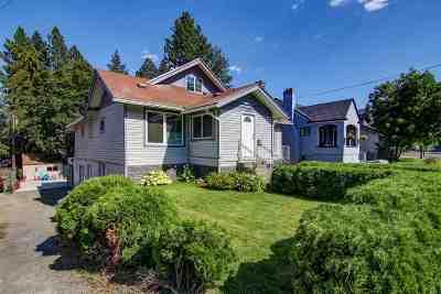 Spokane Single Family Home For Sale: 1311 S Grove St