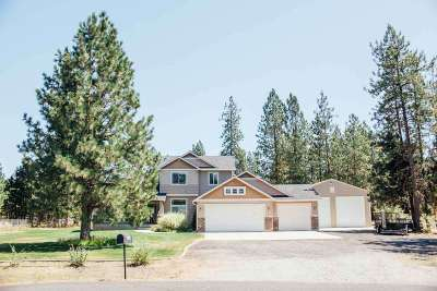 Nine Mile Falls WA Single Family Home Ctg-Inspection: $385,000