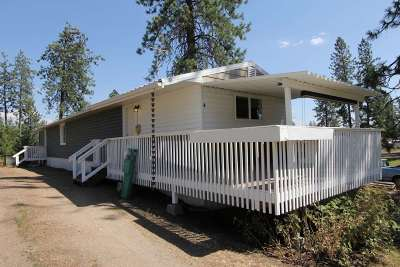 Chattaroy Mobile Home For Sale: 35312 N Newport Hwy #Space 4