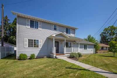 Spokane Valley Single Family Home For Sale: 10705 E Broadway Ave