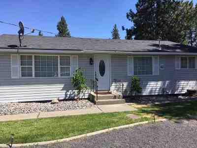 Spokane Valley Single Family Home Chg Price: 10516 E 8th Ave