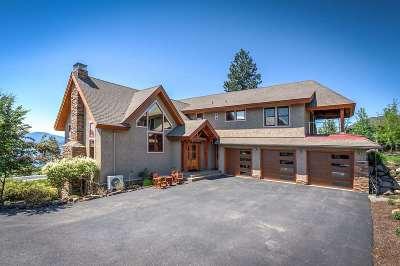 Coeur D Alene Single Family Home For Sale: 6690 E Dewey Dr