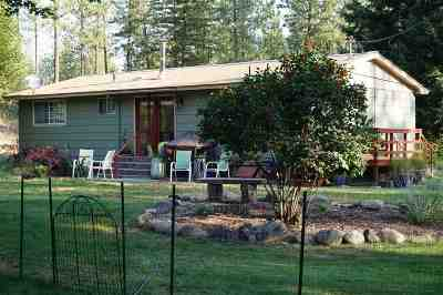 Nine Mile Falls WA Single Family Home Ctg-Inspection: $274,900