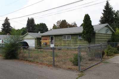 Spokane Valley Single Family Home Chg Price: 11511 E Riverside Ave