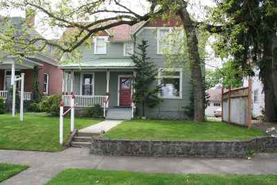 Spokane Single Family Home For Sale: 1007 W Augusta Ave