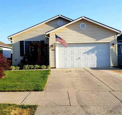 Cheney WA Single Family Home For Sale: $215,000