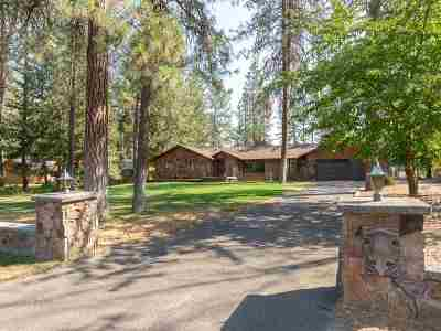 Nine Mile Falls WA Single Family Home Ctg-Inspection: $650,000