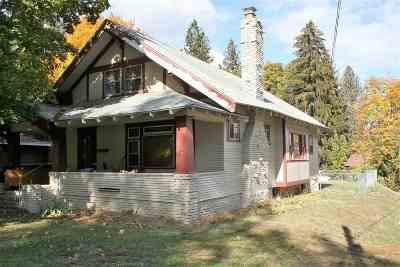 Spokane Single Family Home For Sale: 1327 E 17 Ave