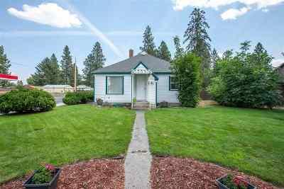 Spokane Single Family Home For Sale: 5428 N Maple St