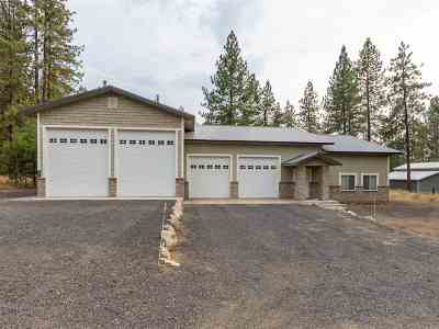 Nine Mile Falls WA Single Family Home For Sale: $500,000