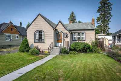 Spokane Single Family Home New: 3821 N D St
