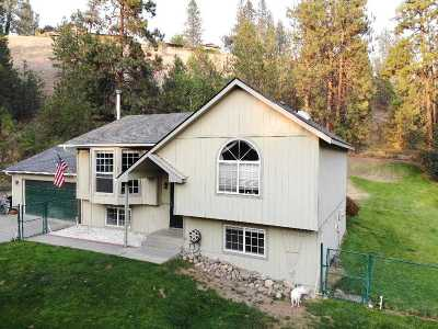 Nine Mile Falls WA Single Family Home For Sale: $285,000