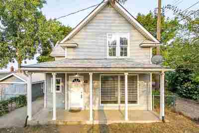 Single Family Home For Sale: 1616 N Wall St
