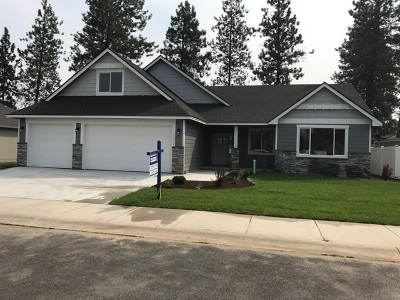 Spokane Single Family Home New: 3601 E Crandall Ct