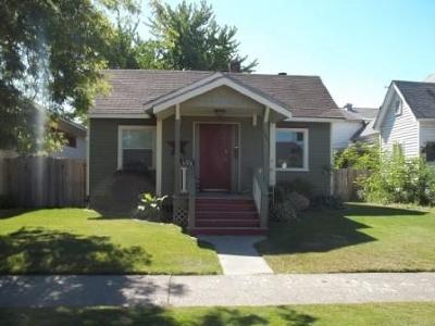 Spokane Single Family Home New: 108 E Nora Ave
