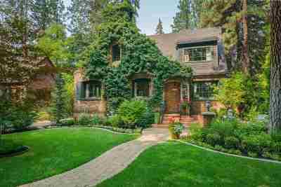 Spokane Single Family Home For Sale: 812 W 19th Ave