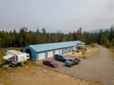 Priest River Single Family Home For Sale: 209 Hoop Loop Rd
