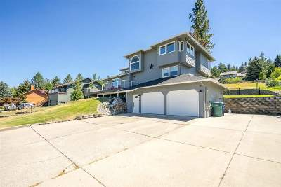 Coeur D Alene Single Family Home For Sale: 3138 E Hayden View Dr