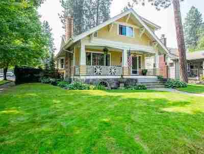 Spokane Single Family Home For Sale: 46 E 27th Ave